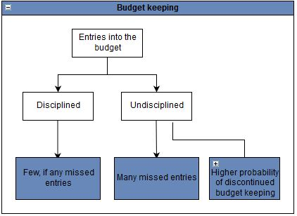 Budget keeping discipline.