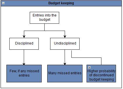 Budget keeping discipline.