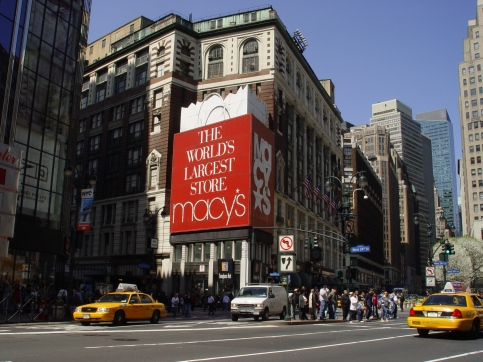 Macy's department store in New York, USA.
