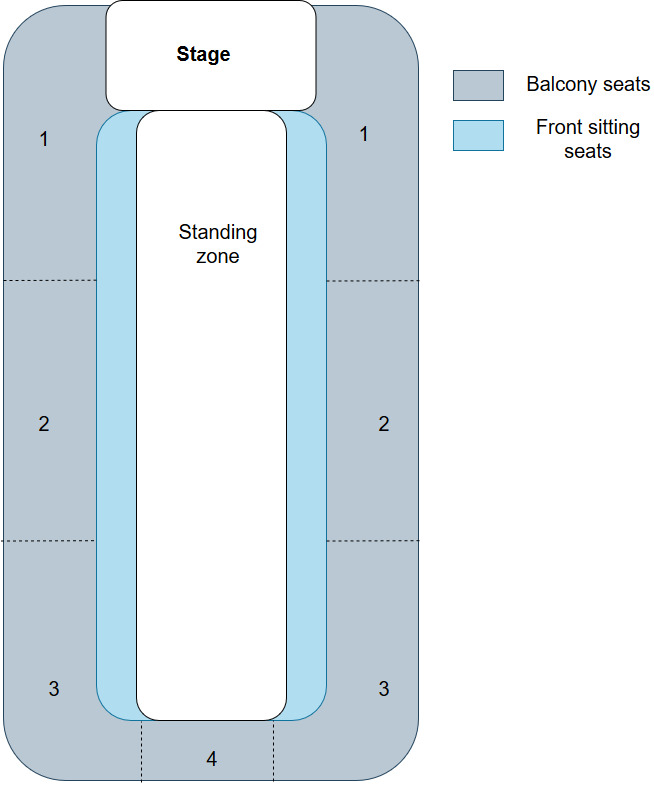arena seating plan