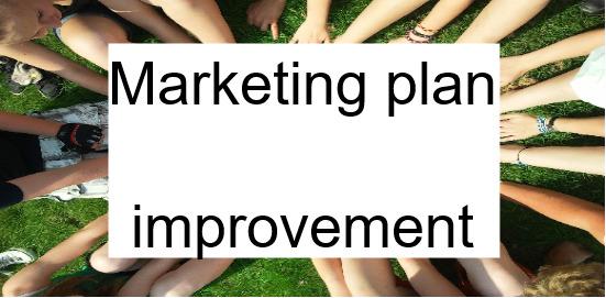 marketing plan improvement service