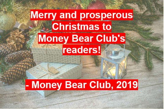 Merry Christmas to the readers of Money Bear Club!